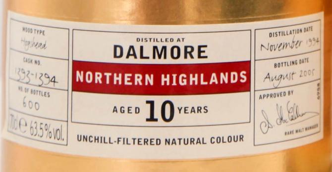 Dalmore 1994 IM