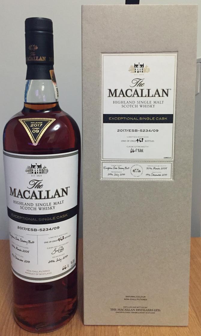 Macallan 2017/ESB-5234/09
