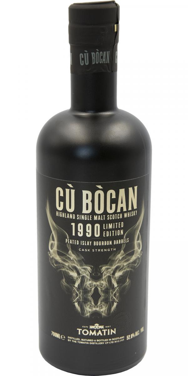 Tomatin 1990 Cù Bòcan Limited Edition