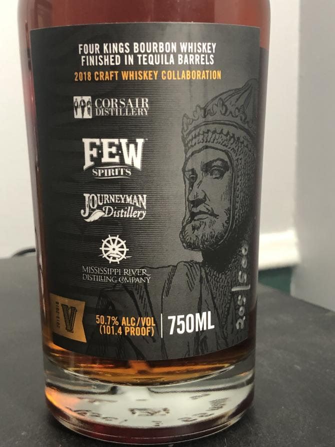 Four Kings 2018 Craft Whiskey Collaboration
