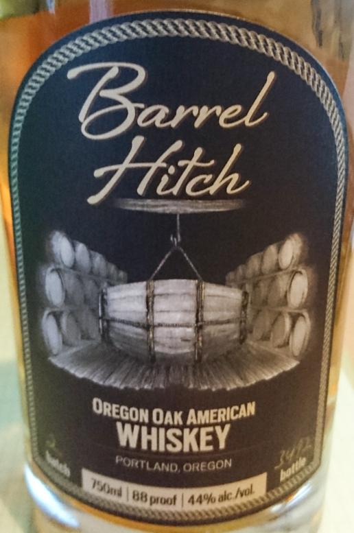 Barrel Hitch Oregon Oak American Whiskey