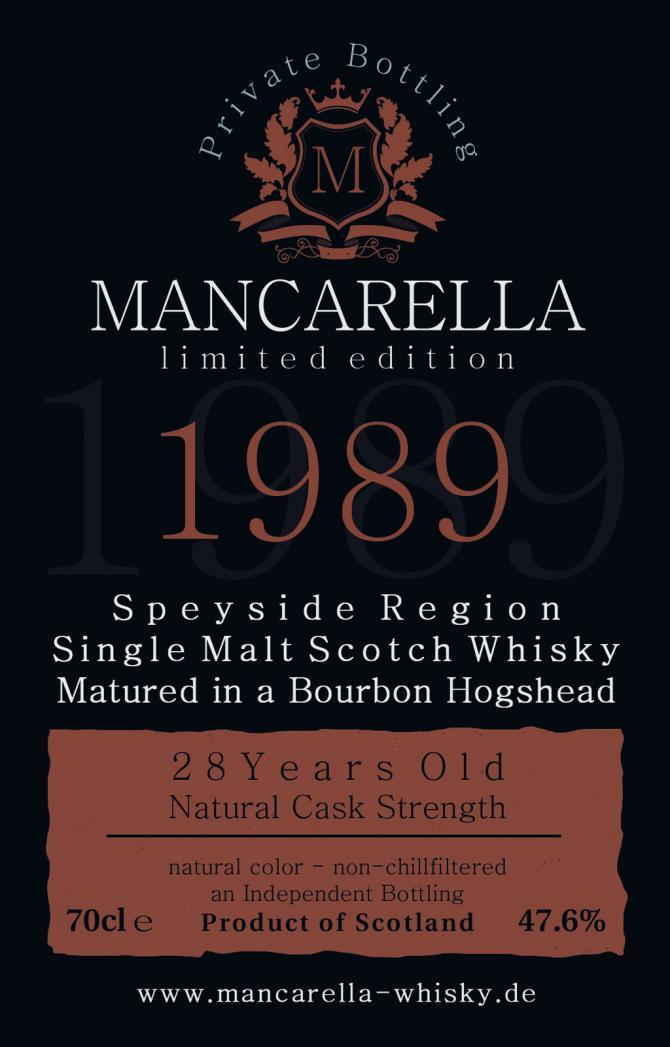 Speyside Region 1989 Ma