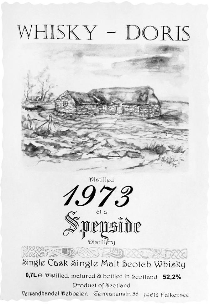 A Speyside Distillery 1973 WD