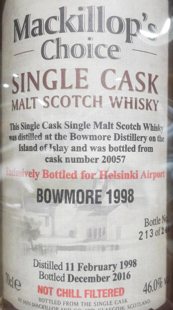 Bowmore 1998 McC