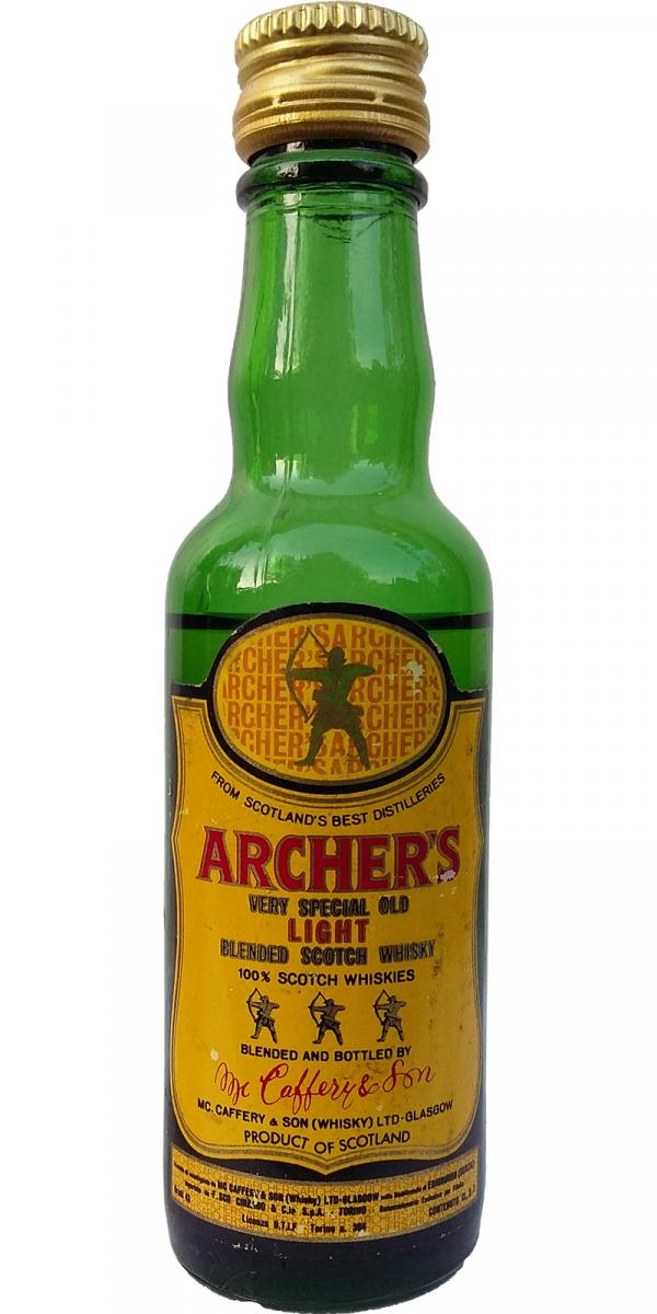 Archer's Very Special Old Light Blended Scotch Whisky