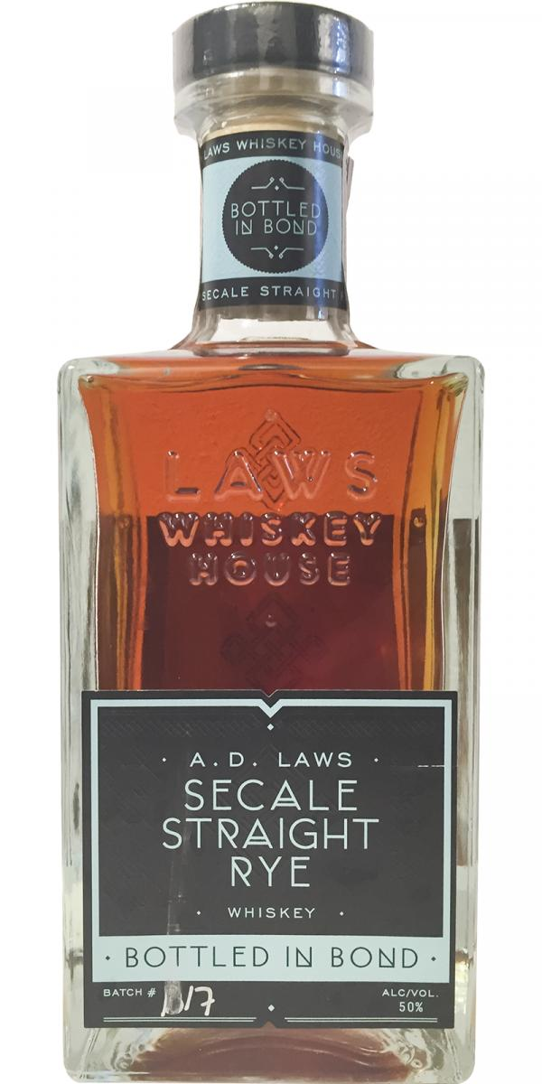 A. D. Laws Secale Straight Rye