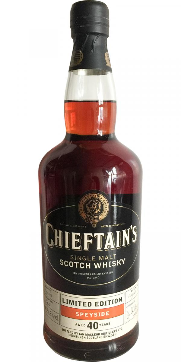 Chieftain's Speyside 40-year-old
