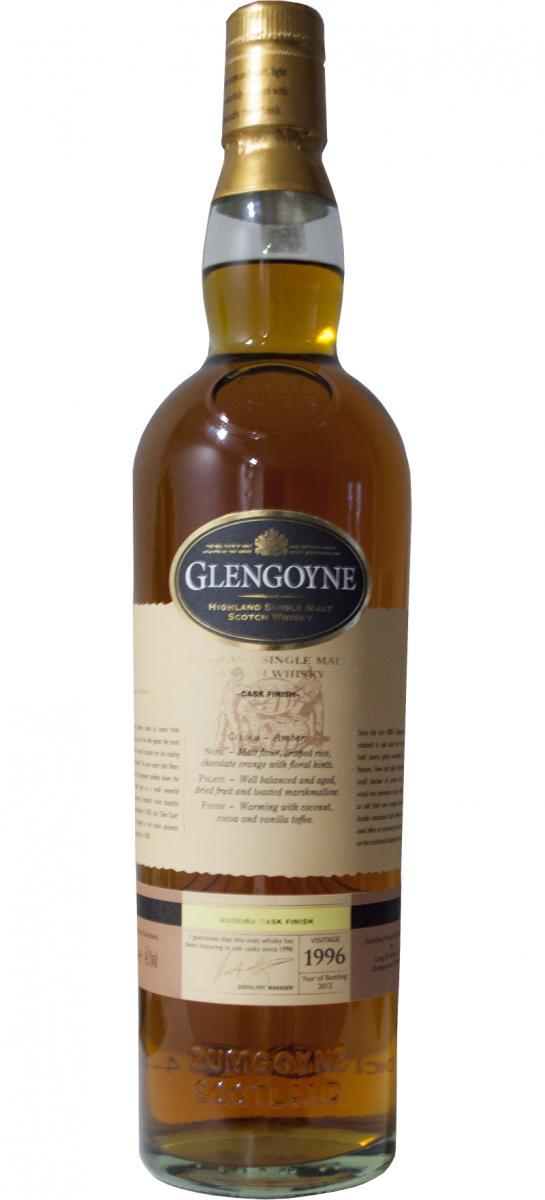 Glengoyne 1996 - Madeira Cask Finish