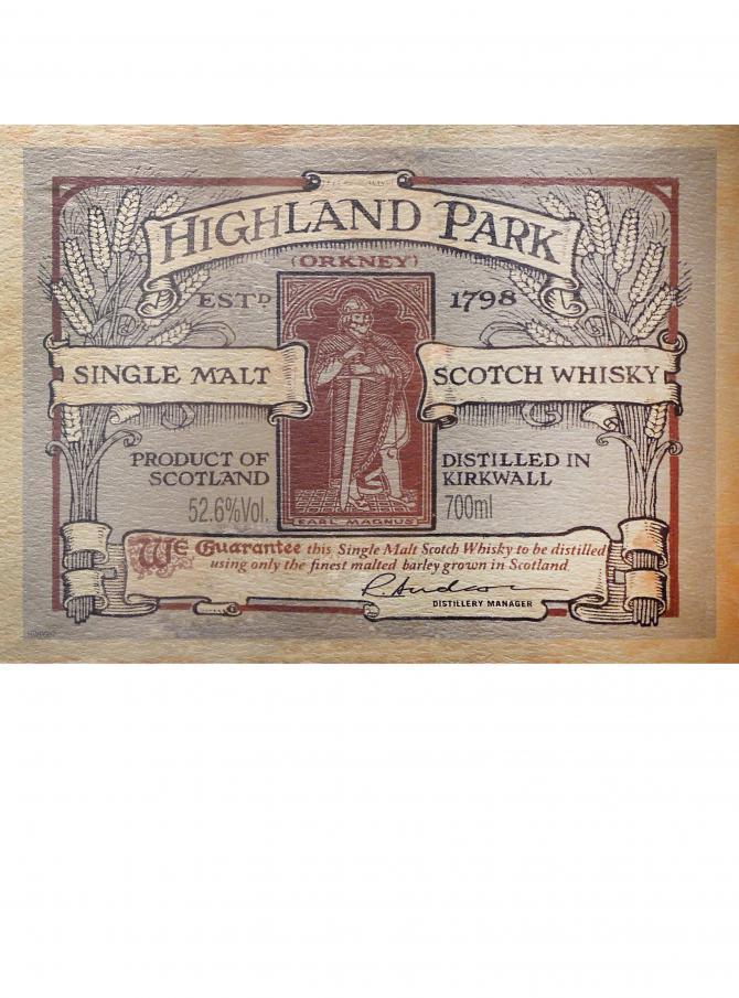 Highland Park Earl Magnus
