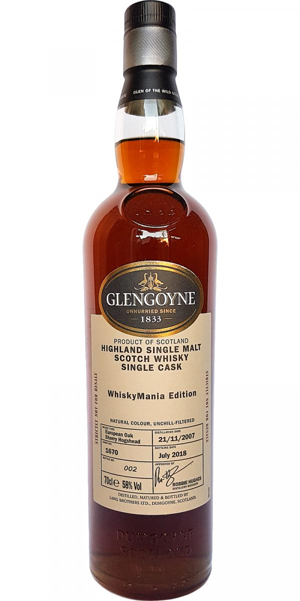 Glengoyne 2007