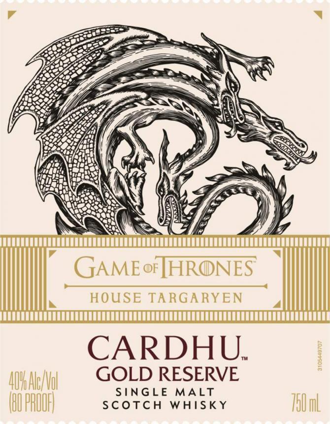 Cardhu Gold Reserve - House Targaryen