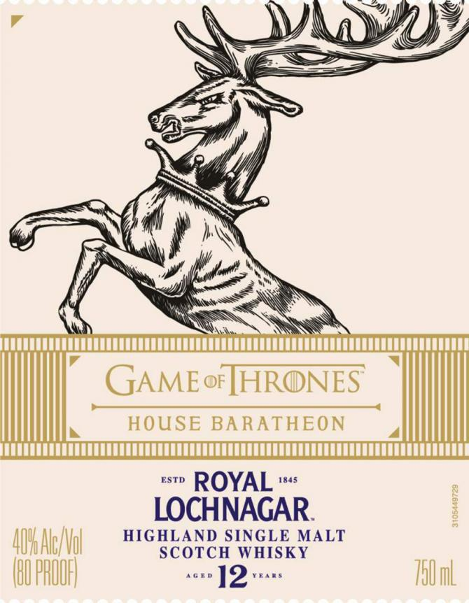Royal Lochnagar 12-year-old - House Baratheon