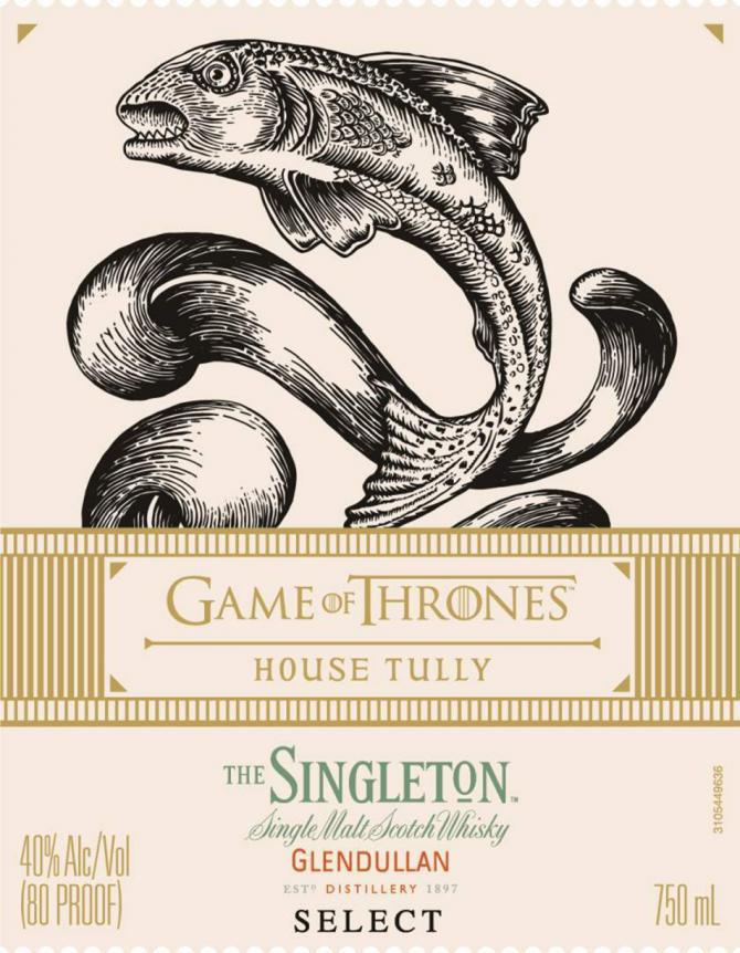 The Singleton of Glendullan Select - House Tully