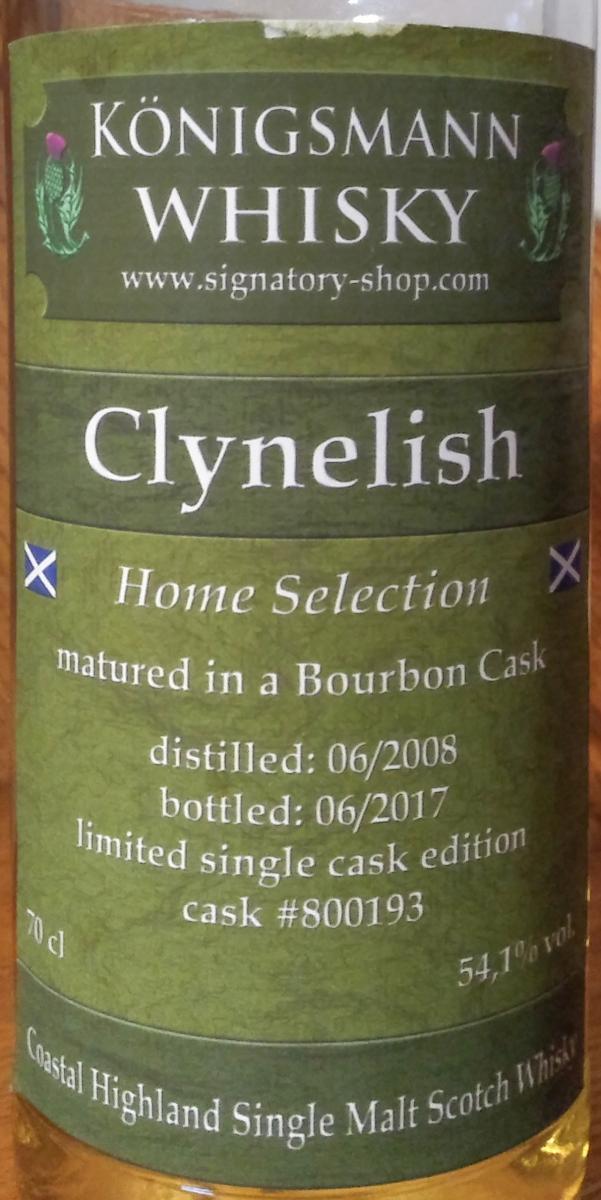 Clynelish 2008 Km
