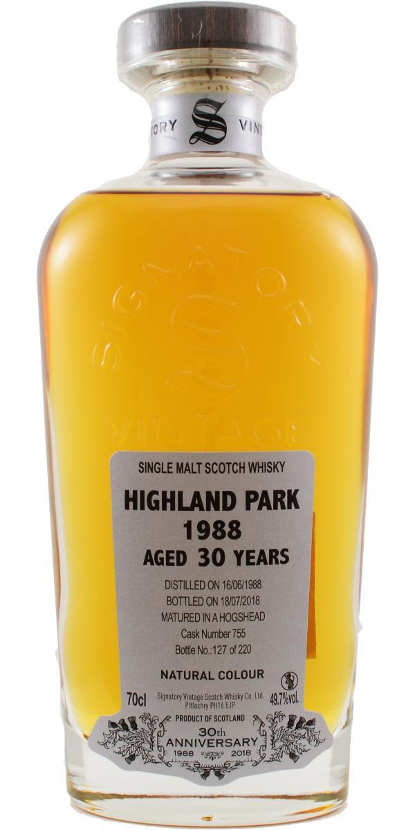 Highland Park 1988 SV