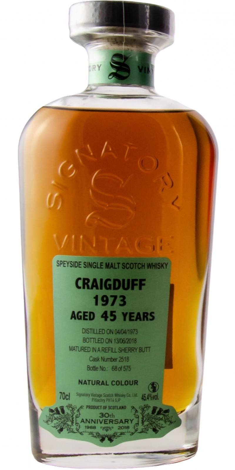 Craigduff 1973 SV