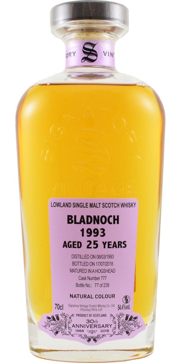Bladnoch 1993 SV
