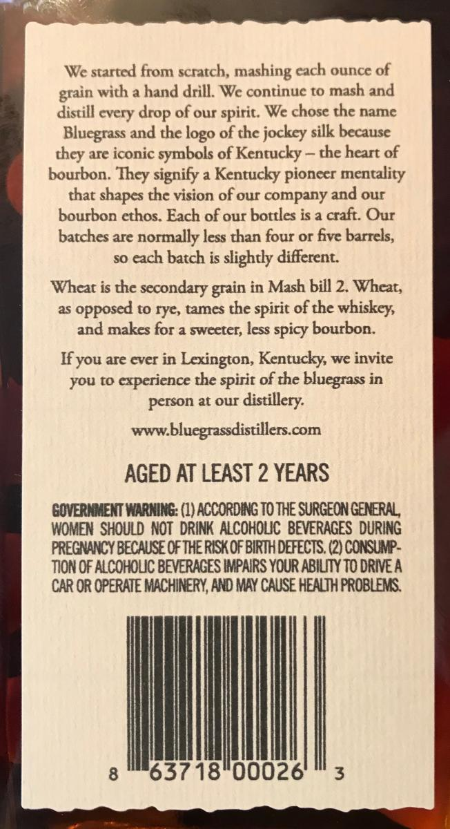Bluegrass Distillers Wheated
