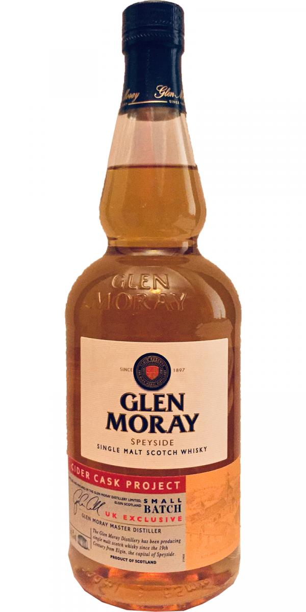 Glen Moray Cider Cask Project