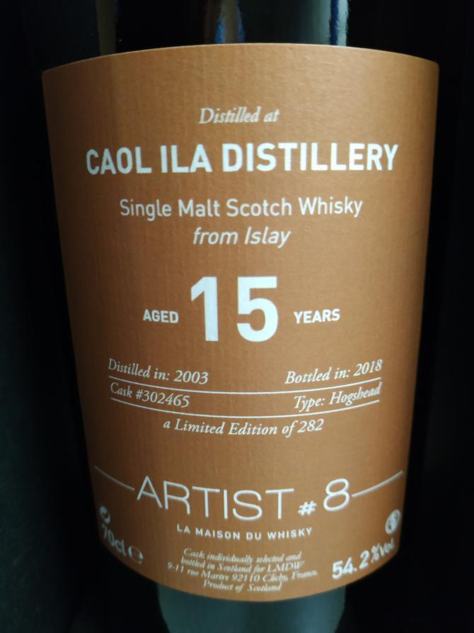 Caol Ila 2003 LMDW