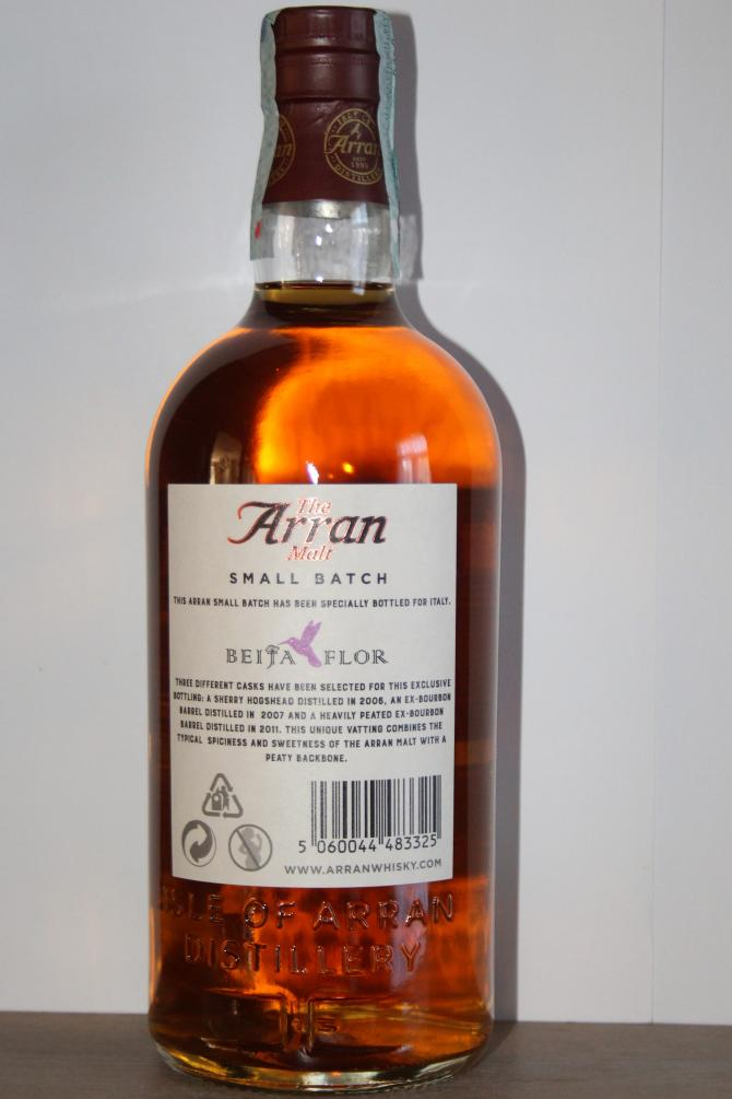 Arran Peat, Sweet and Spice
