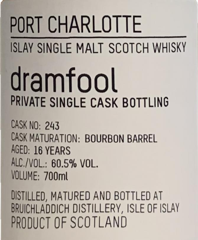 Port Charlotte 2002 Df