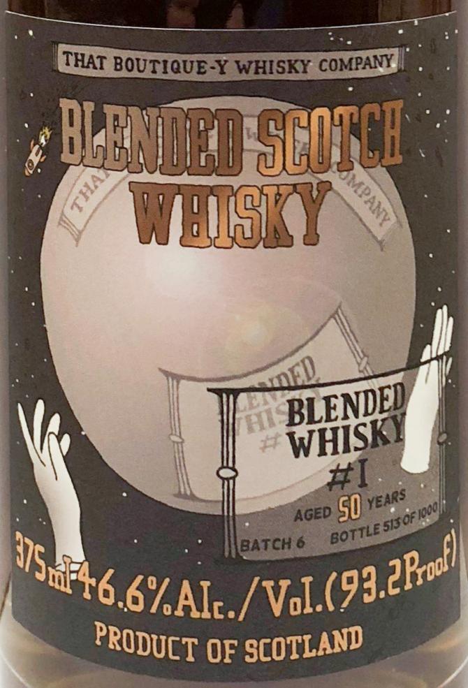 Blended Scotch Whisky #1 TBWC