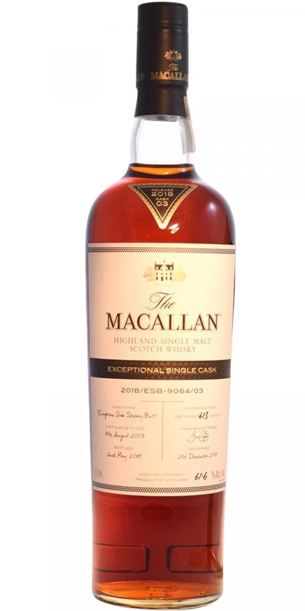 Macallan 2018/ESB-9064/03