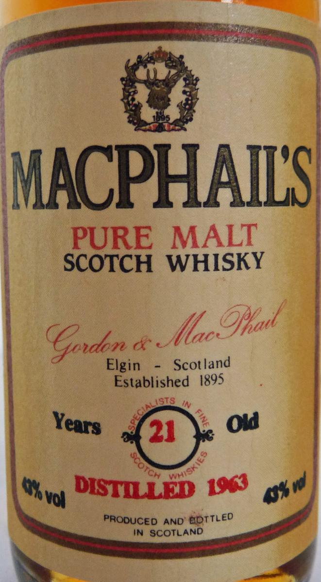 MacPhail's 1963 GM