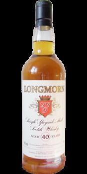 Longmorn 40-year-old GM