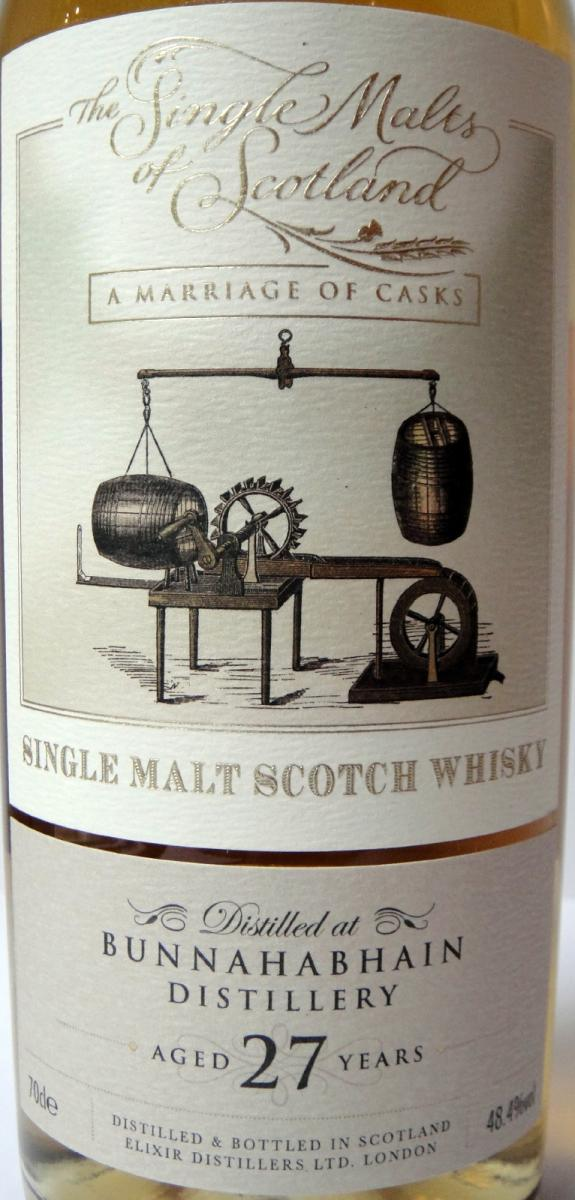 Bunnahabhain 27-year-old ElD