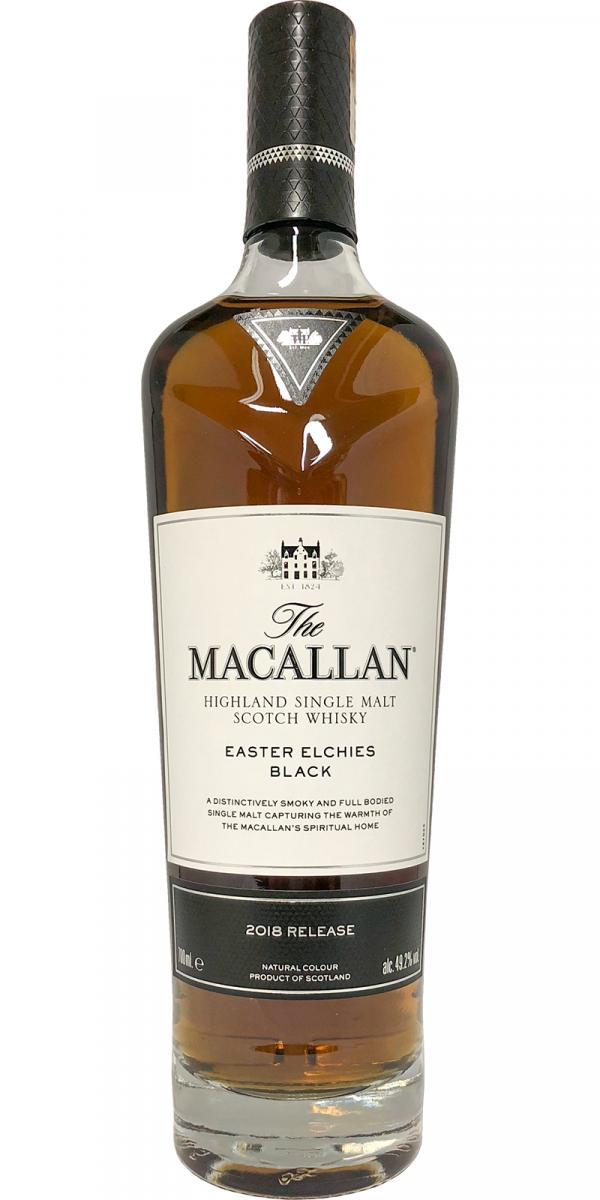 Macallan Easter Elchies Black