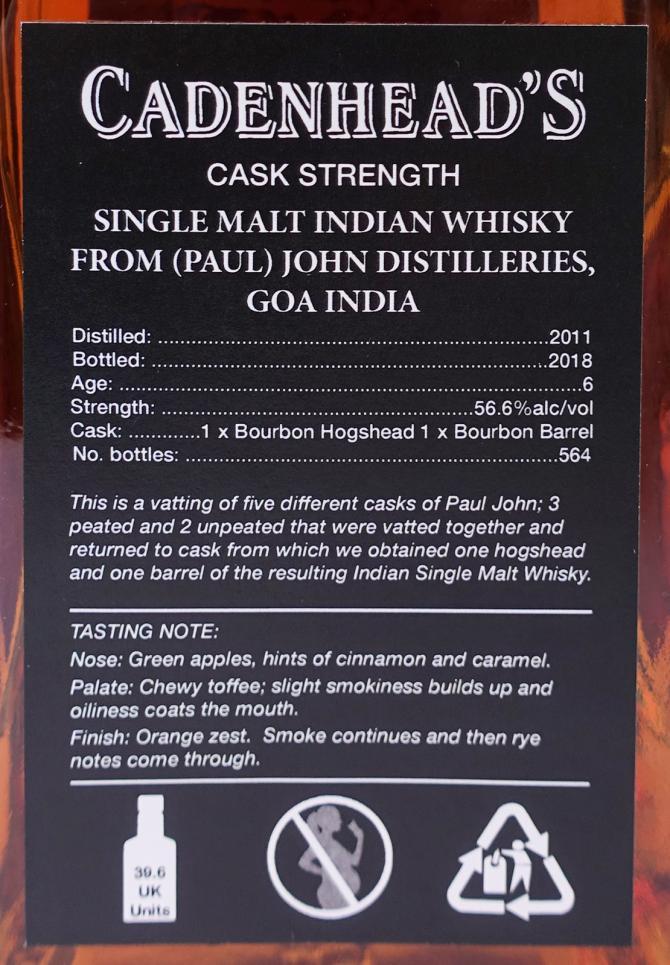 Paul John 2011 CA