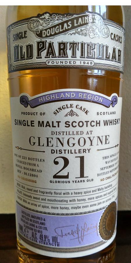 Glengoyne 1997 DL