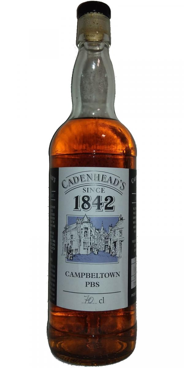 Campbeltown PBS Cadenhead's 1842 CA