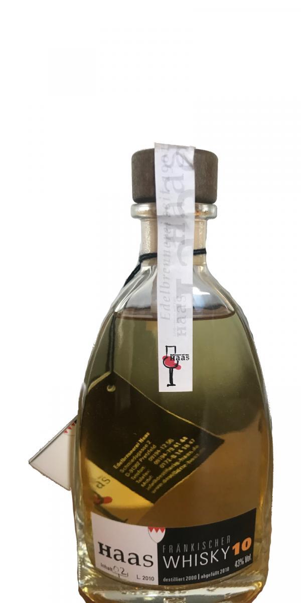 Haas Fränkischer Whisky 10