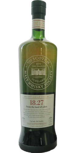 Inchgower 1985 SMWS 18.27