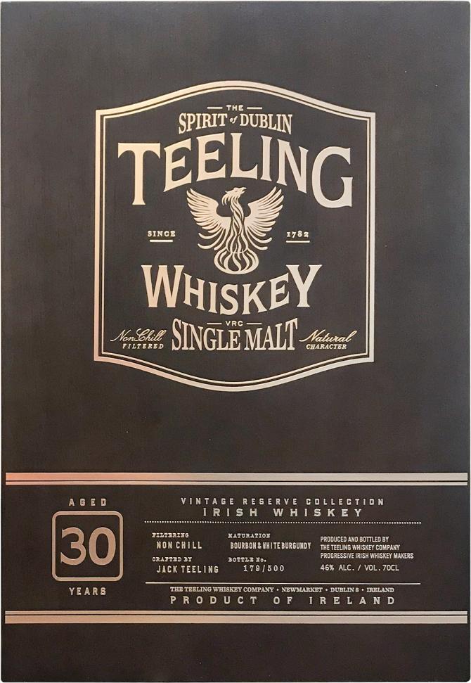 Teeling 30-year-old