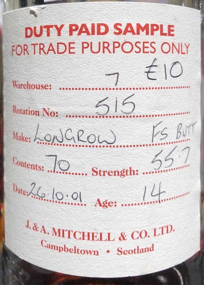Longrow 2001