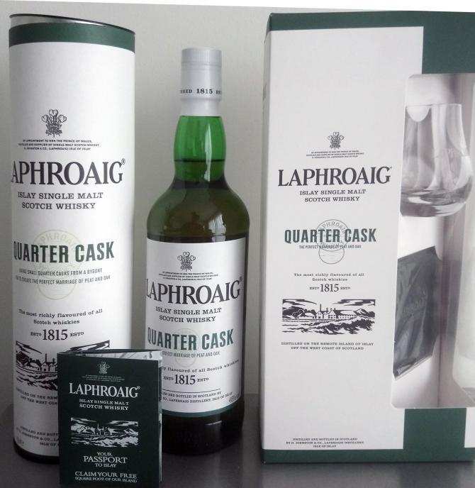 Laphroaig Quarter Cask - Gift Set