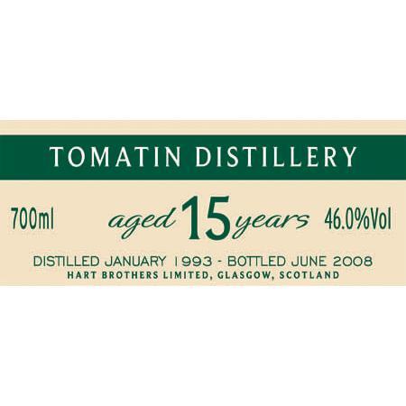 Tomatin 1993 HB