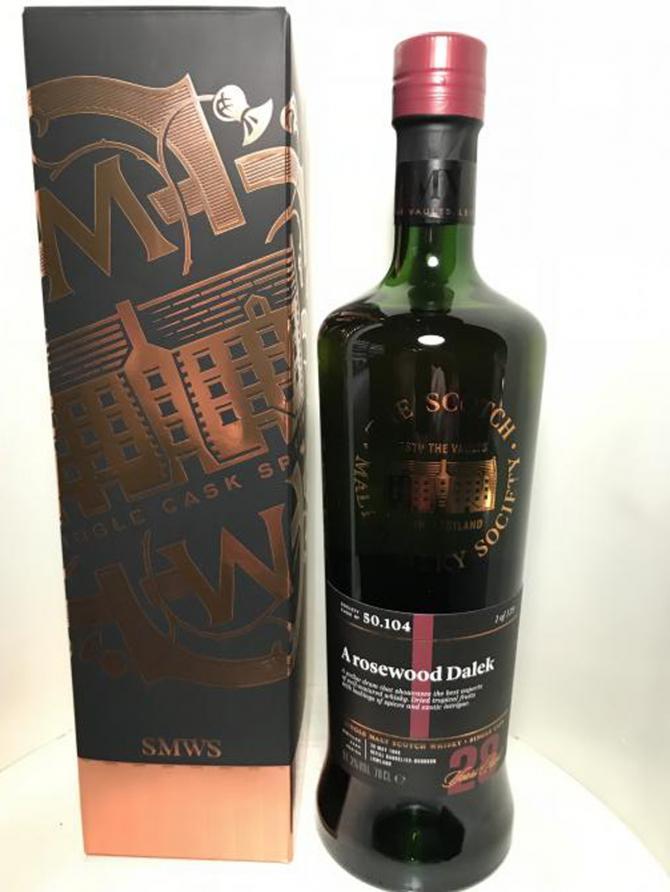 Bladnoch 1990 SMWS 50.104