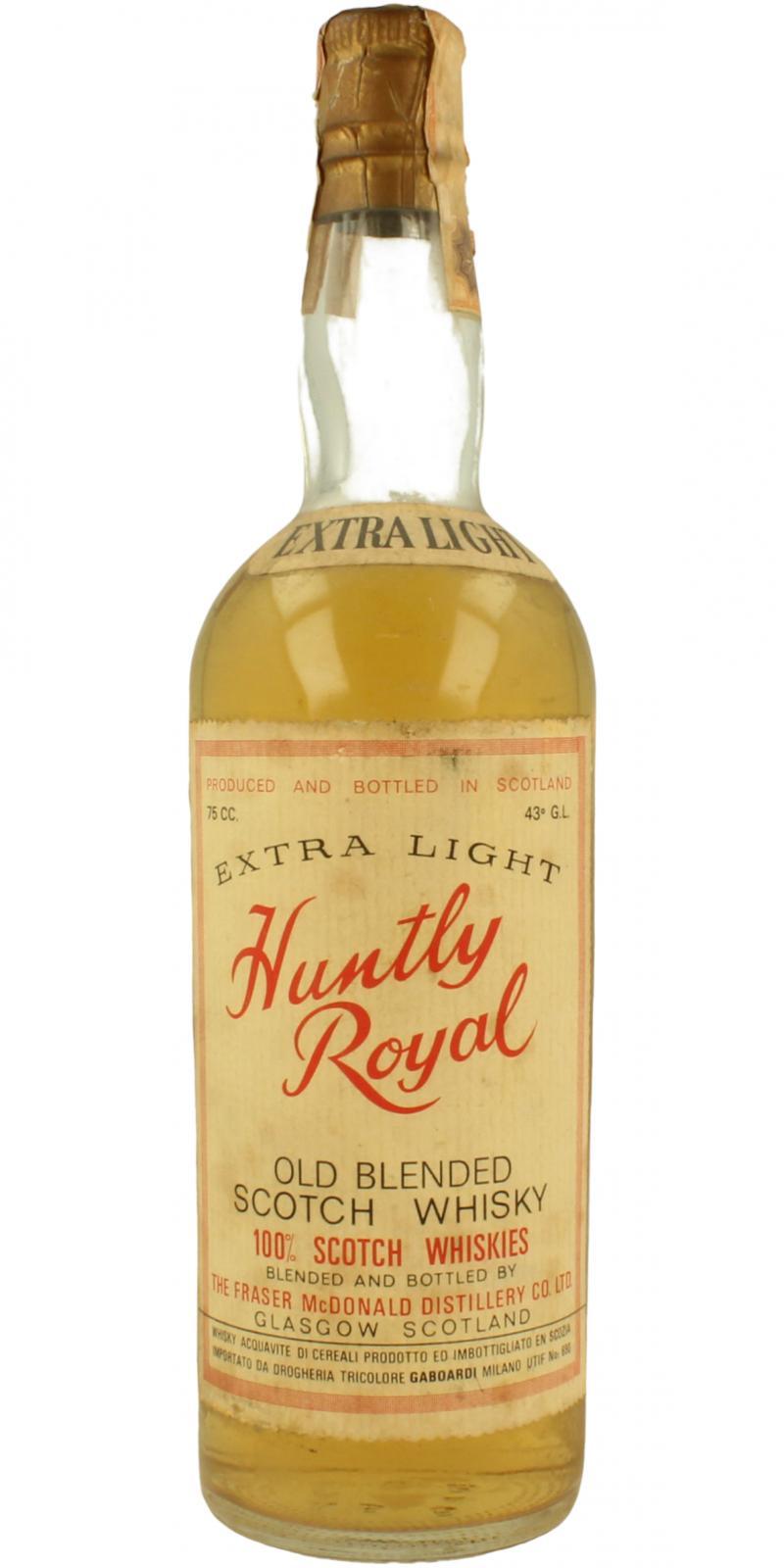 Huntly Royal Extra Light