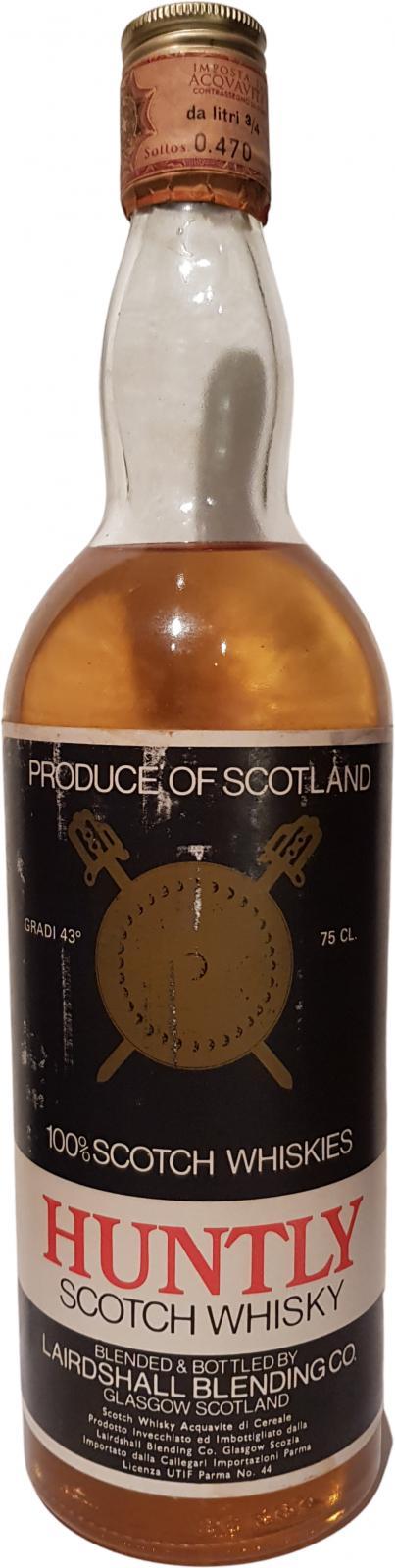 Huntly Scotch Whisky