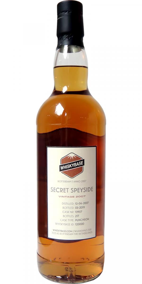 Secret Speyside 2007 WB