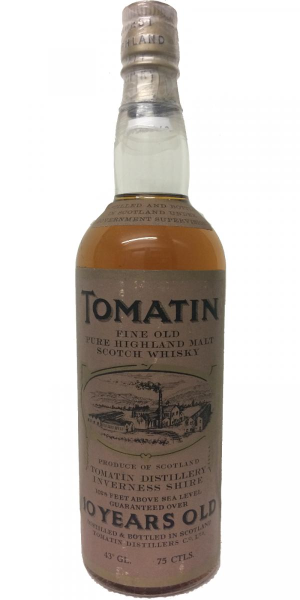 Tomatin 10 year old