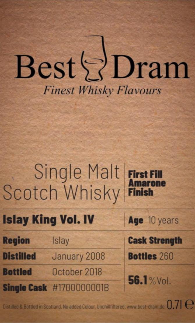 Islay King 2008 BD