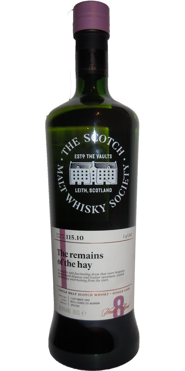 An Cnoc 2009 SMWS 115.10