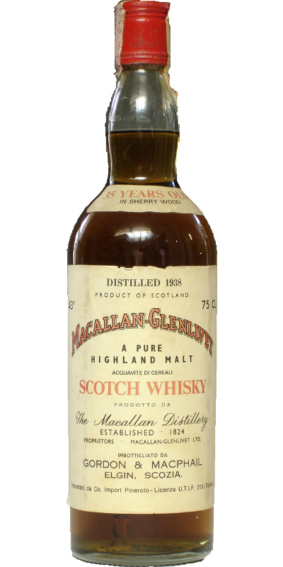 Macallan 1938 GM