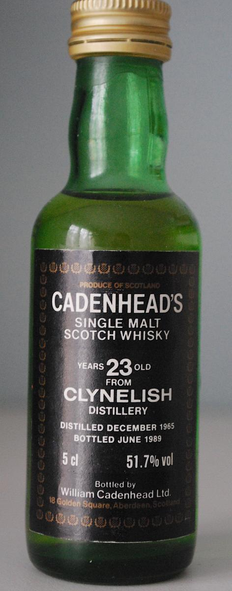 Clynelish 1965 CA